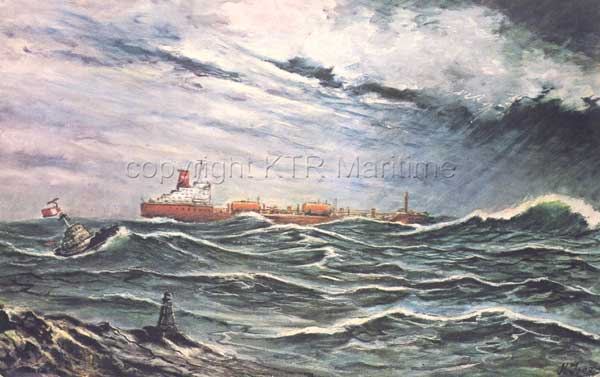 Painting by Capt. Ken Tree